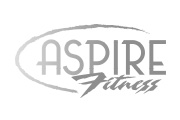 aspire fitness logo and web design