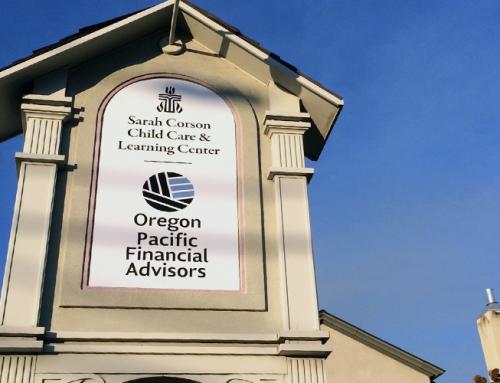 Oregon Pacific Financial & Sarah Courson Child Care