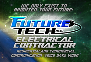 Future Tech Electrical Contractors Logo The Sign Dude