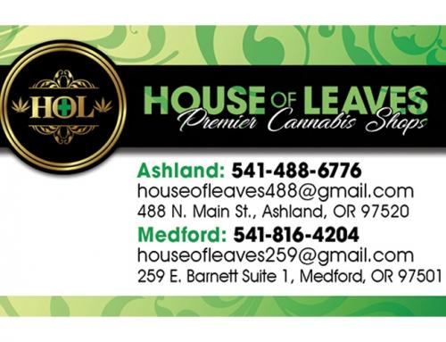 House of Leaves Logo & Brand
