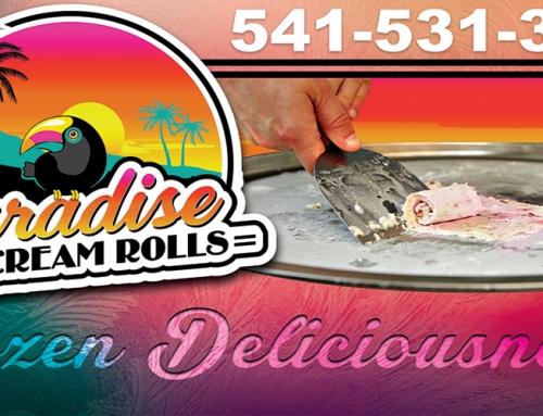 Paradise Ice Cream Rolls