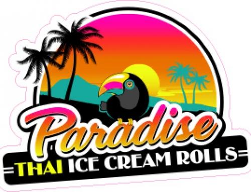 Paradise Ice Cream Logo