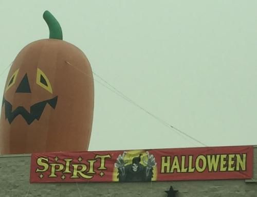 Spirit Halloween Store Set-up