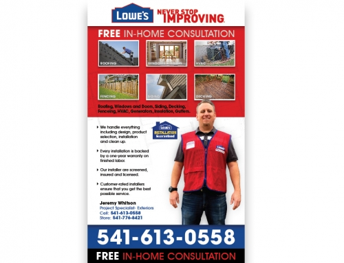 Lowes Installer Sign