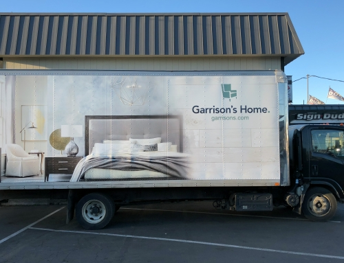Garrison's Furniture Truck Wrap