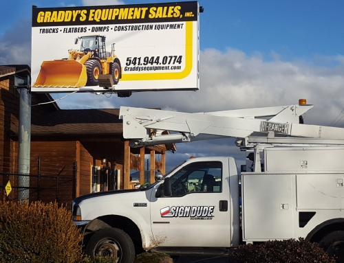 Graddy's Equipment Sales Sign