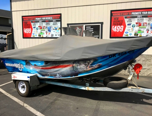 Drift Boat Wrap Design