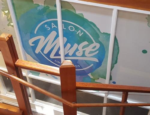 Salon Muse Window Film