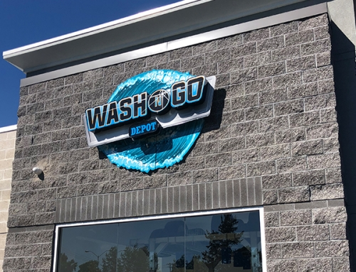 Wash N Go Sign