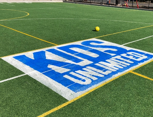 Kids Unlimited Field Logo Stencils