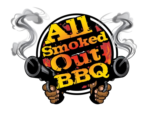 All Smoked Out BBQ Logo