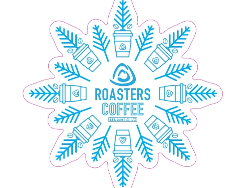 Roasters Holiday Decal