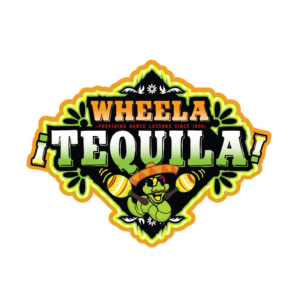 Wheela tequila logo design