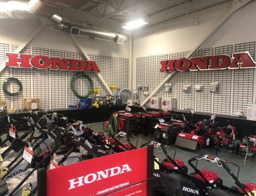 Honda Power Tool Store Signage