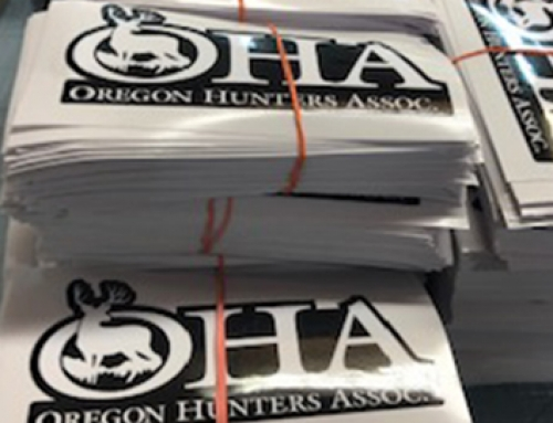 Oregon Hunters Association Decals