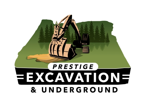 Prestige Excavation Logo Design