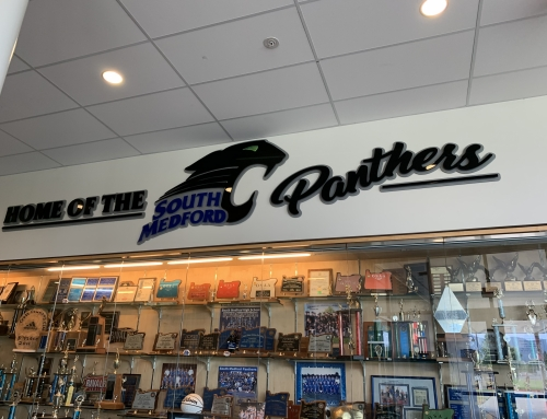 Home of the Panthers Sign