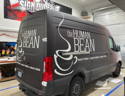 Human Bean Coffee Wrap