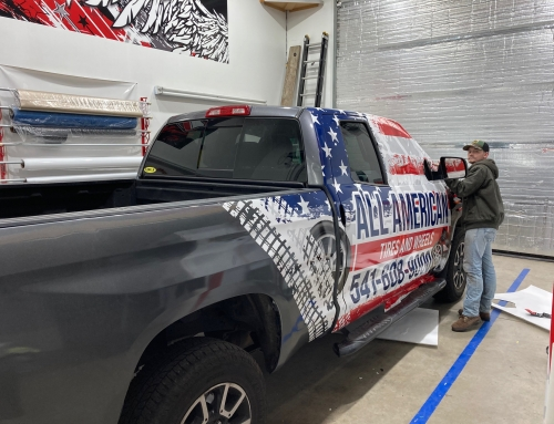 All American Tire Cooper Tires Wrap