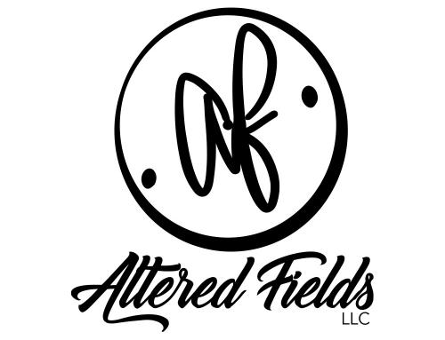 Altered Fields Script Logo