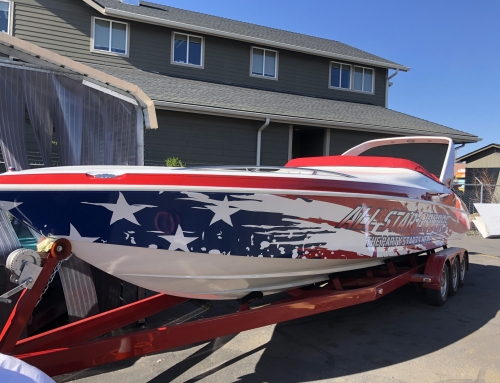 All-Star Liquor Boat Wrap