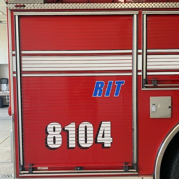Medford Fire Department truck graphics