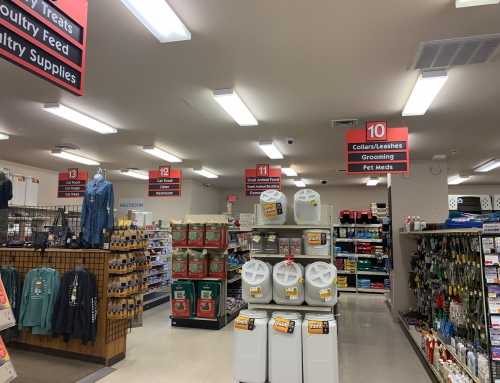 Grange Co op Aisle Signs
