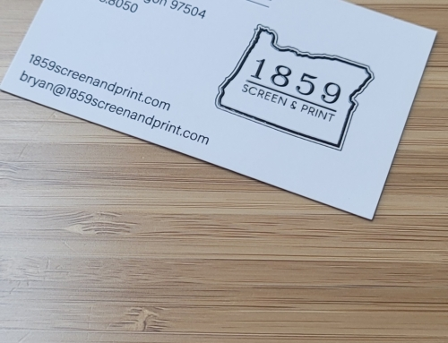 1859 Screen & Print Business Cards
