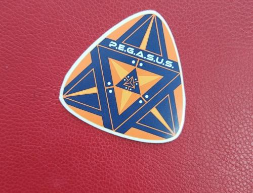 P.E.G.A.S.U.S Stickers