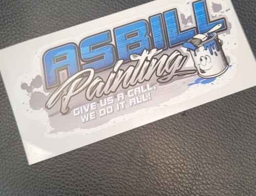 Asbill Painting Stickers