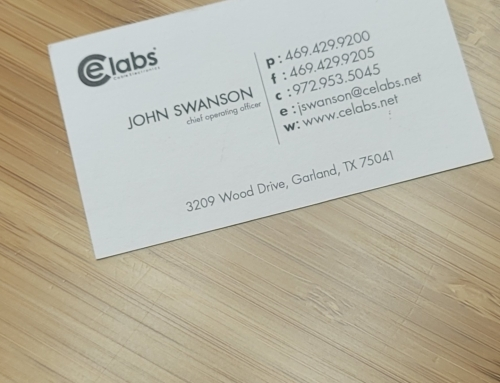 CE Labs Business Cards