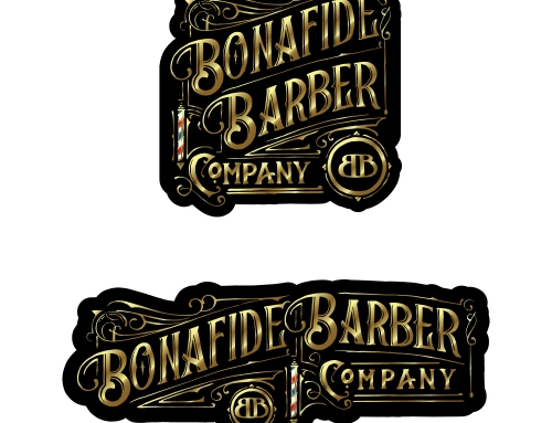 Bonafide Barbers Logo Design