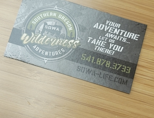 Southern Oregon Wilderness Adventures Business Cards
