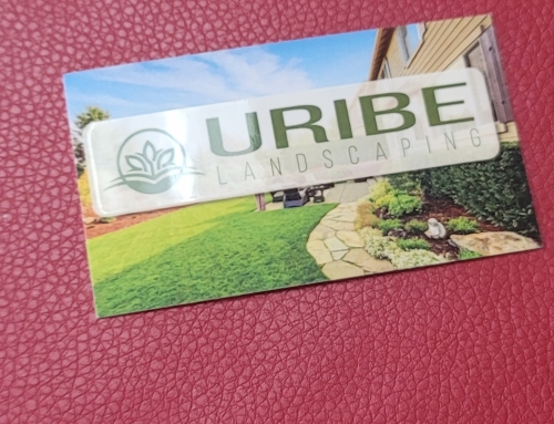 Uribe Landscaping Business Cards